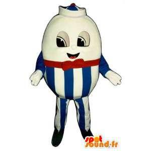 Mascot uovo gigante Pasqua - Pasqua Suit - MASFR003294 - Mascotte della pasticceria