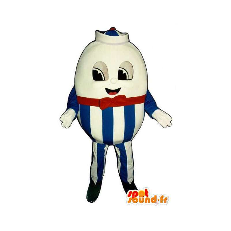 Mascot egg giant Passover - Easter Suit - MASFR003294 - Mascots of pastry