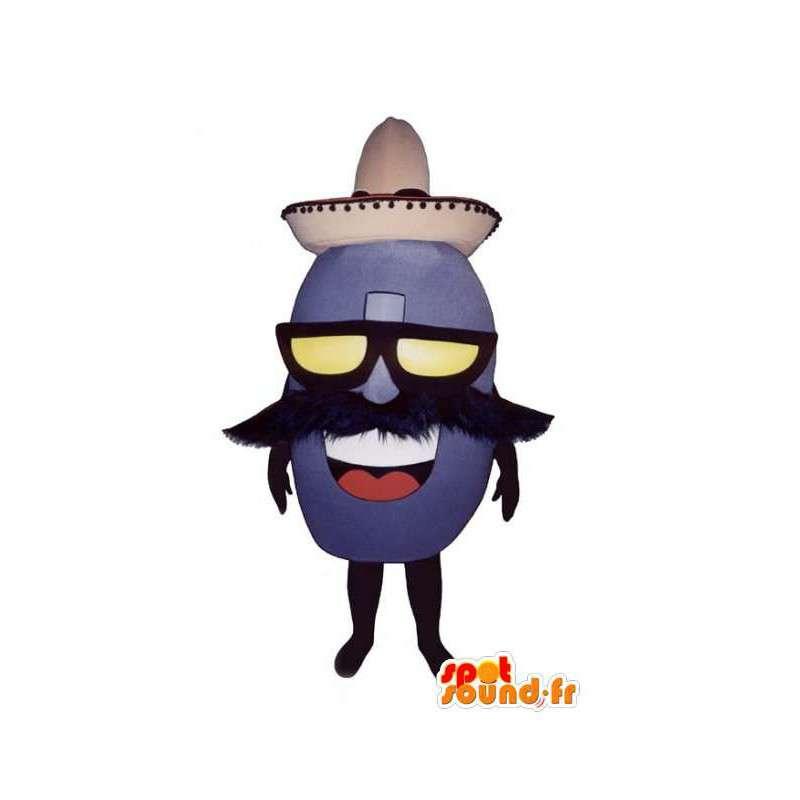 Mascot shaped Mexican bean - Bean Costume - MASFR003296 - Mascots unclassified