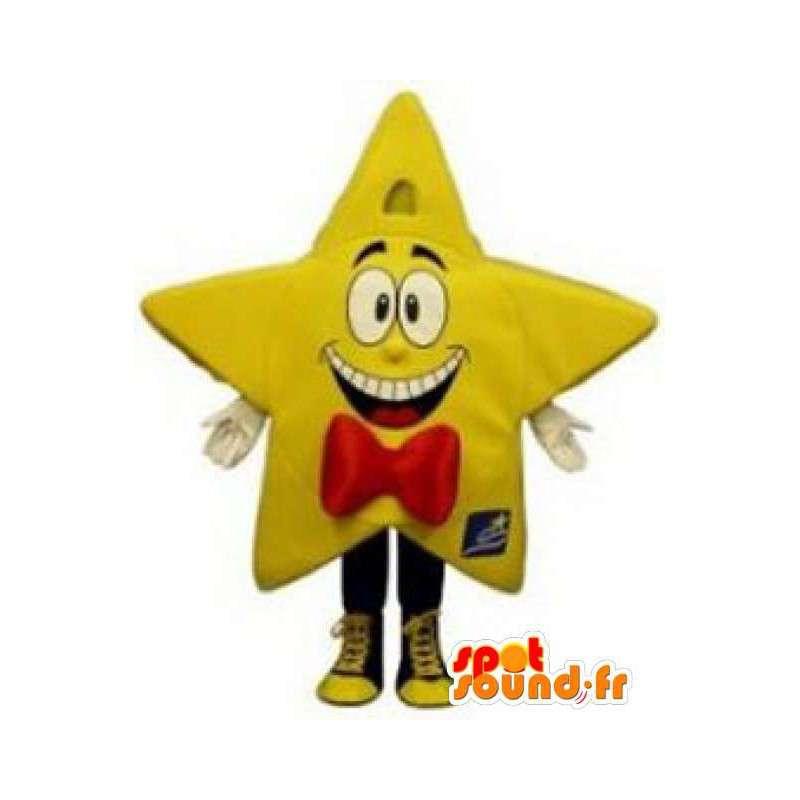 Mascotte d'étoile jaune géante - Costume d'étoile géante - MASFR003297 - Mascottes non-classées