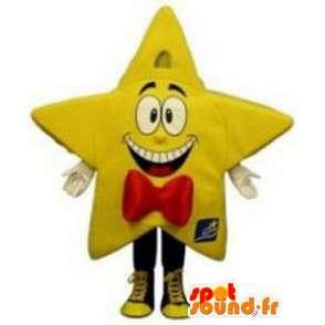 Maskotka gigant żółte gwiazdki - Giant Gwiazda Costume - MASFR003297 - Niesklasyfikowane Maskotki