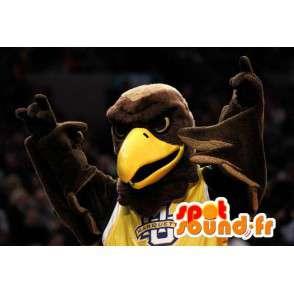 Maskotka brązowy i żółty Giant Eagle - Eagle Costume - MASFR003306 - ptaki Mascot