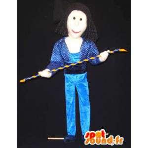 Mascotte d'acrobate de cirque - Costume de cirque - MASFR003315 - Mascottes Cirque