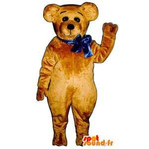 Brun bjørn maskot plys - Bear kostume - Spotsound maskot
