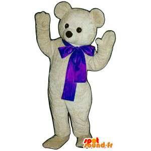 Polar Bear Mascot Plush - Polar Bear Costume - MASFR003318 - Bear mascot