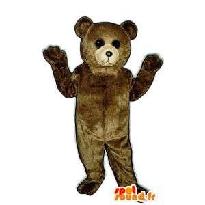 Brown Bear Mascot Plush - Brown Bear Costume - MASFR003321 - Bear mascot