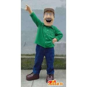 Mascot nonno - Costume nonno tuttofare - MASFR003330 - Umani mascotte