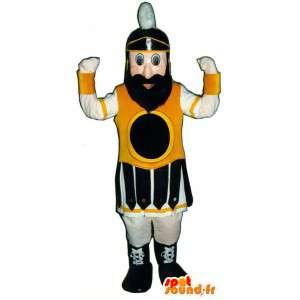 伝統的な剣闘士のマスコット-時代衣装-MASFR003332-兵士のマスコット