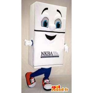 Muotoinen maskotti giant valkoinen patja - Patja Suit - MASFR003347 - Mascottes d'objets