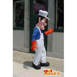 Mascot Maler Maurer - Maler-Maskottchen - MASFR003357 - Menschliche Maskottchen