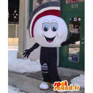 Mascot bola de golfe gigante - Costume Bola Golfo