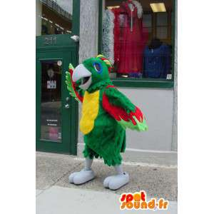 Mascot multicolored parrot - Parrot Costume - MASFR003363 - Mascots of parrots
