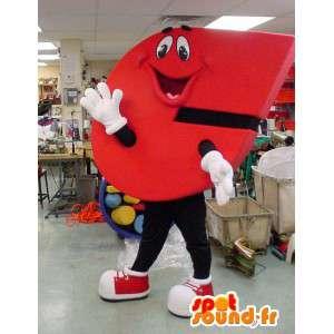 Mascot carta em forma de C - carta Costume C
