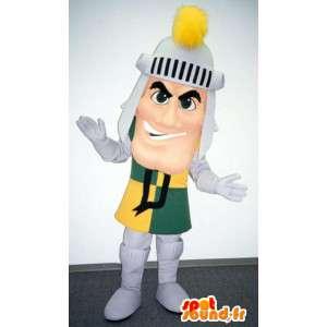 Mascotte de chevalier en armure - Costume de chevalier