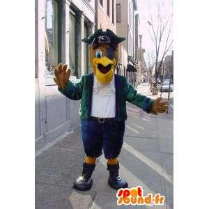 Maskotka ubrana jak piratem orła - Pirate Costume - MASFR003372 - ptaki Mascot