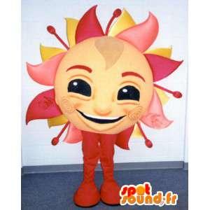 Mascot la forma de un gigantesco sol - sol Traje