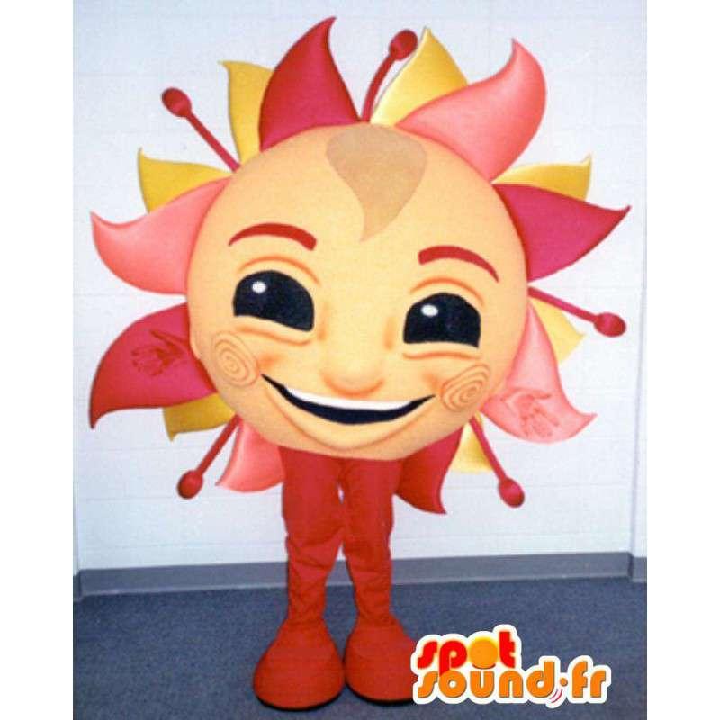 Mascotte en forme de soleil géant - Costume de soleil - MASFR003376 - Mascottes non-classées