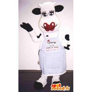 巨大な牛のマスコット-牛のコスチューム-MASFR003377-牛のマスコット