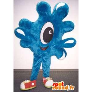 Mascot vorm van druppels water - plas Costume