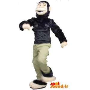 Mascot monkey black and beige - Monkey Suit - MASFR003403 - Mascots monkey