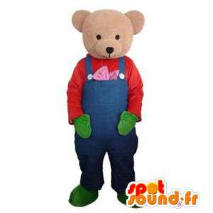 Mascotte karhu haalarit - Teddy Costume - MASFR003443 - Bear Mascot