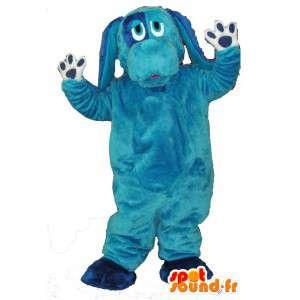 Blue Dog Mascot Plush - Blue Dog kostyme - MASFR003451 - Dog Maskoter