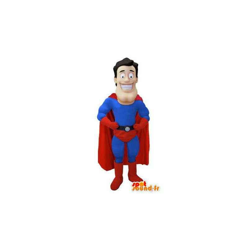 Mascot superhero - Superman Costume - MASFR003469 - Superhero mascot