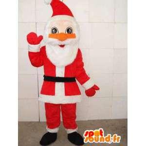 Mascotte Santa Claus - Classic - snel Sent met toebehoren