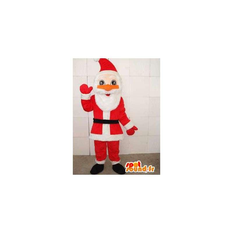 Mascotte Santa Claus - Classic - snel Sent met toebehoren - MASFR00263 - Kerstmis Mascottes