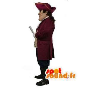Pirate Mascot met zijn pak en hoed - Captain - MASFR003499 - mascottes Pirates