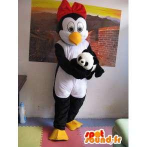 Μασκότ Penguin (ε) Linux - Γυναίκα Penguin - Με εξαρτήματα - MASFR00266 - Γυναίκα Μασκότ