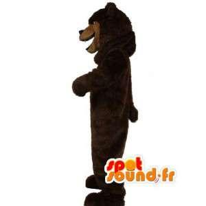 Brown bear mascot realistic - brown bear costume - MASFR003513 - Bear mascot