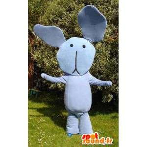 Mascot gigantische blauwe bear - blauwe pluche Costume - MASFR003539 - Niet-ingedeelde Mascottes