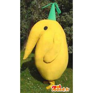 Yellow bird mascot - yellow bird costume