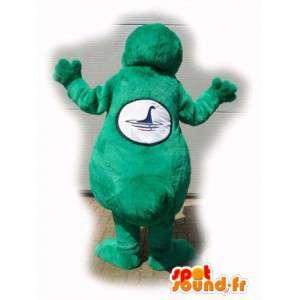 Grüner Dinosaurier-Maskottchen kundengerecht - Dinosaurier-Kostüm - MASFR003557 - Maskottchen-Dinosaurier
