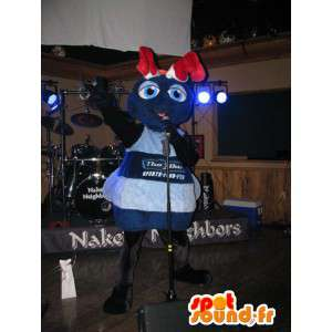 Mascot riesigen blauen ant - Ameise Kostüm
