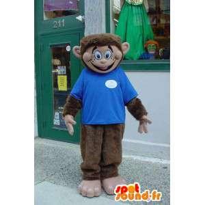 Brązowy małpa maskotka pluszowa - Monkey kostiumu - MASFR003570 - Monkey Maskotki