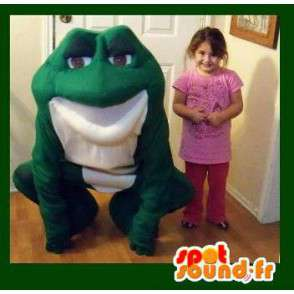 Mascot giant green toad - toad Disguise - MASFR003587 - Mascots frog