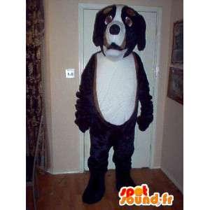 Saint Bernard hundemaskot kostume - Tricolor hundedragt -