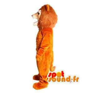 Giant lion mascot plush - lion costume - MASFR003603 - Lion mascots