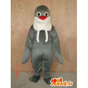 Mascot Seal Classic Grey - Vene katsella Pehmo - MASFR00285 - maskotteja Seal