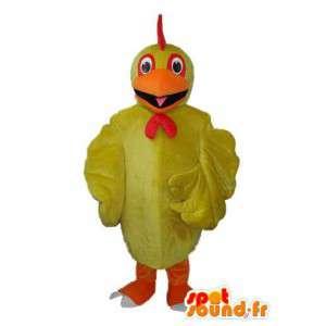 リトルオレンジイエローのアヒルの衣装-アヒルのマスコット-MASFR003618-アヒルのマスコット