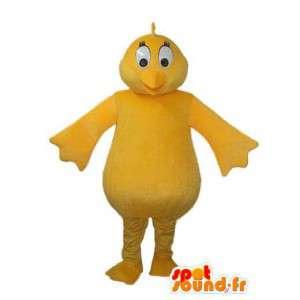 無地の黄色いひよこのマスコット-黄色いひよこの衣装-MASFR003621-鶏のマスコット-オンドリ-鶏