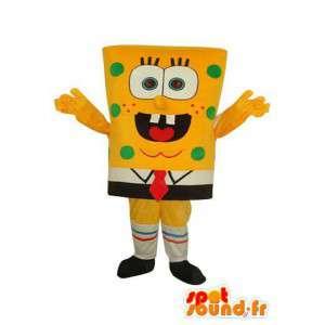Bob maskot karakter av svampen - Disguise SpongeBob