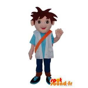 Zacht en comfortabel Boy Mascot - karakter kostuum - MASFR003639 - Mascottes Boys and Girls