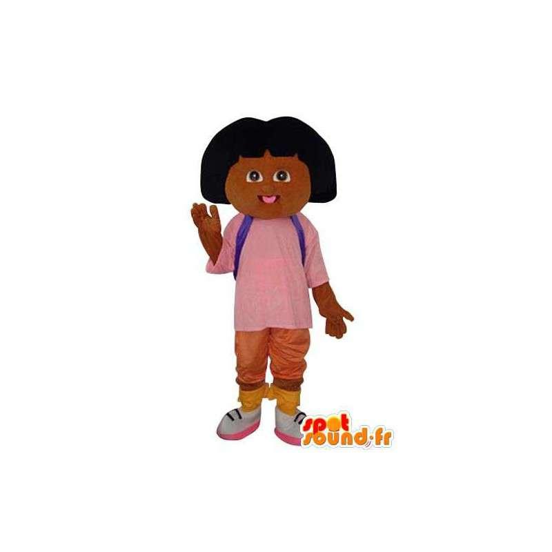 Mascotte de fillette en peluche marron - Costume personnage - MASFR003642 - Mascottes Garçons et Filles