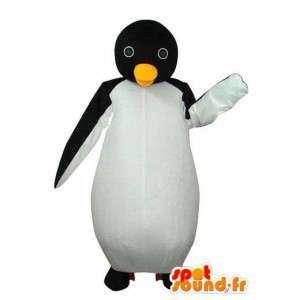 Disfraz pingüino blanco y negro - avío pingüino