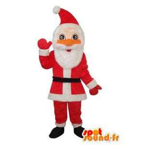 Mascotte Santa Claus - kerstman kostuum