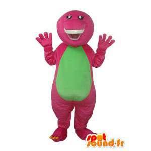 Mascot tortuga sin caparazón - traje de tortuga - MASFR003665 - Tortuga de mascotas