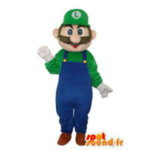 Luigi karakter maskot - Spil karakter kostume - Spotsound maskot
